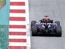 Sebastian Vettel z Red Bullu během tréninku na VC Rakouska