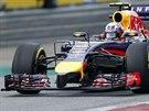 Daniel Ricciardo z Red Bullu během kvalifikace na VC Rakouska.