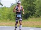 BĚH. Maratonský závod už si mohl dlouhodobě nejlepší Čech v dlouhém triatlonu...