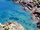 Jedna z odlehl�ch z�tok u poloostrova Cap de Creus