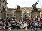 Česká filharmonie ukončila svou 118. koncertní sezonu na Hradčanském náměstí v...