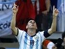 SPASITEL. Fotbalisty Argentiny zachránil v utkání s Íránem v nastaveném čase