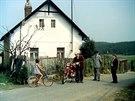 Bohoušova chalupa. Dům s číslem popisným 107, nejslavnější stavení Višňové.