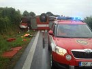 Nehoda hasi�� na M�lnicku (29. �ervna 2014)