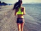 �esk� Miss 2012 Tereza Chlebovsk� nezapom�n� na sport ani na dovolen�.