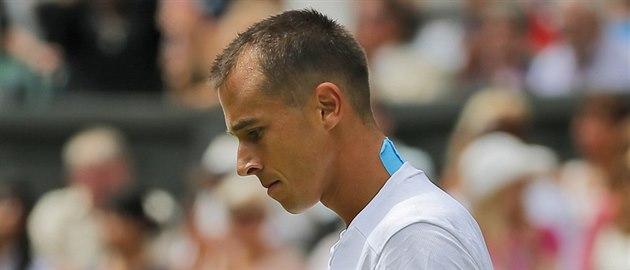 �eský tenista Luká� Rosol ve Wimbledonu potrápil Rafaela Nadala.