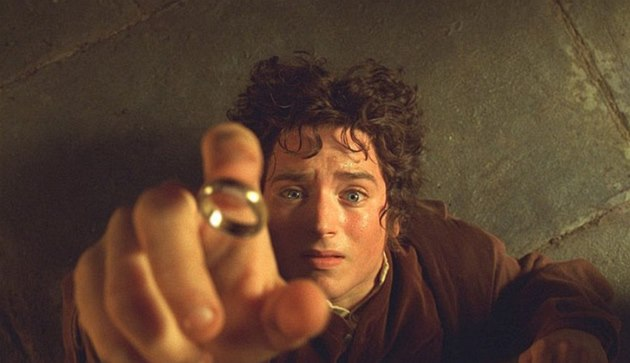 Elijah Wood v hlavní roli filmového zpracování Spole�enstva prstenu