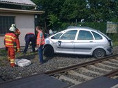 M�sto nehody. (27.6.2014)
