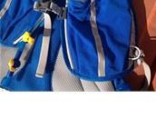 Přední meshové elastické kapsy