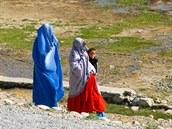 Okolí základny v afghánském Bagrámu