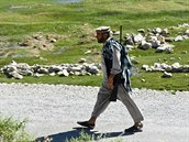 Okolí základny v afghánském Bagrámu je oblíbeným místem pro lovce