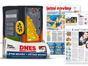 Dětské noviny v MF DNES již od 26.6.2014