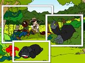 z etapov� hry Sta� se str�cem pralesa