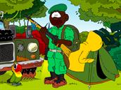 z etapové hry Staň se strážcem pralesa