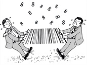 K hádce Singapuru s Jižní Koreou o prefix 888 vznikla tato karikatura od...