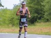 BĚH. Maratonský závod už si mohl dlouhodobě nejlepší Čech v dlouhém triatlonu užít, soupeře měl VabroušeK daleko za sebou.