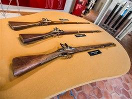 Zámek Slavkov - zbraně