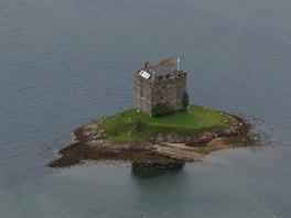 Ruiny hradu Stalker, severn� mezi Obanem a Fort William