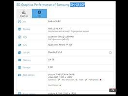 Základní parametry tajemného Samsungu SM-G510F