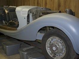 Mercedes Benz 540 K Cabriolet B z roku 1941, který patřil Hermannu Göringovi,...