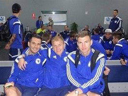 """""""Všichni sedí, jen Bešič hledá Messiho."""" Tak popsal fotografii bosenský kanonýr..."""