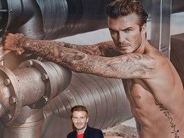 David Beckham se před Super Bowlem objevil v ulicích New Yorku, aby podpořil...