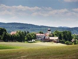 Tak vypadá Višňová v současnosti. Je to obec se zhruba šesti sty obyvateli. Při...