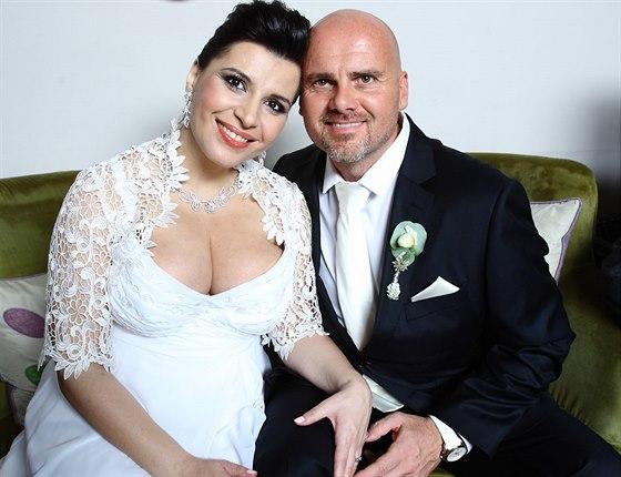 Novomanželé Andrea Tögel Kalivodová a Radek Tögel