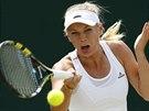 Dánská tenistka Caroline Wozniacká prohrála se Záhlavovou-Strýcovou v...