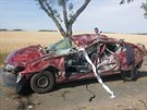 Tragická nehoda na Znojemsku (29. června, 2014).