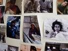 Fotografie některých vděčných pacientů, kteří prošli péčí českých zdravotníků v...