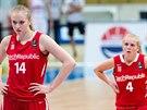 �esk� ml�de�nick� reprezentantky Julia Reisingerov� (14) a Karol�na Male�kov�...