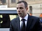 Oscar Pistorius se po m�s�ci vr�til k soudu v jihoafrick� Pretorii (30. �ervna...