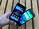 HTC One mini 2 a Sony Xperia Z1 Compact