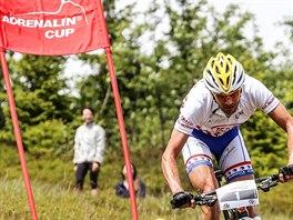 Biker Michal Bubílek z týmu Kia Motors na Adrenalin Cupu