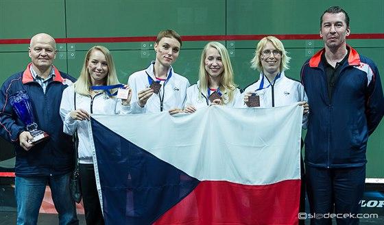 České squashové úspěchy s omezeným rozpočtem