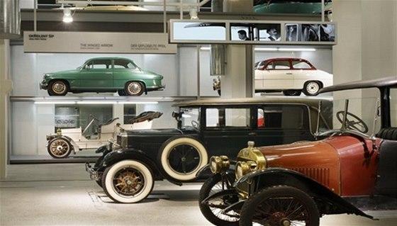 Muzeum škoda představuje legendy své značky