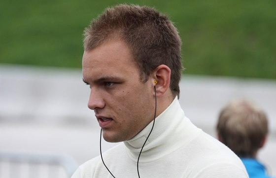 V silverstonském závodě GP2 překvapil vynikajícím debutem: Dán Marco Sörensen.