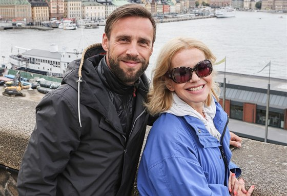 Roman Vojtek a Jitka Asterov� ve Stockholmu