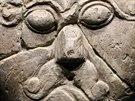 Archeologové usuzují, že socha ztvárňuje hlavu vysoce postaveného člověka,...
