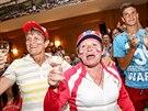 Po vítězství Petry Kvitové na Wibledonu vypukly ve Fulneku oslavy (5. července...
