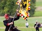 U Hradce Králové na Chlumu si připoměli 148. výročí rozhodující bitvy...
