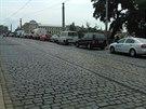 Kvůli uzavřené Valdštejnské ulici musí řidiči počítat se zdržením i po cestě na...