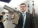 Česká zbrojovka v Uherském Brodě vyrobí každý den přes tisíc zbraní. V závodě...