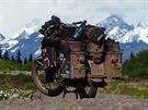 Pavel Suchý urazil 49 tisíc kilometrů na cestě kolem světa. To vše na 35 let...