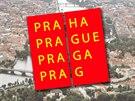 Logo Prahy vytvořilo grafické studio Aleše Najbrta.