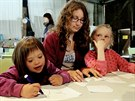 Letn� t�bor autistick�ch d�t� v Jizbic�ch na Nymbursku (9. �ervence 2014)