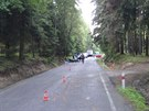 Srážka motocyklu s cyklistou skončila na Trutnovsku neštěstím....
