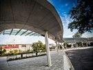 V Náchodě slavnostně otevřeli nové autobusové nádraží (4. července 2014).