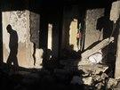 Během noci obsadili izraelští vojáci domy, ve kterých v Hebronu žili údajní...